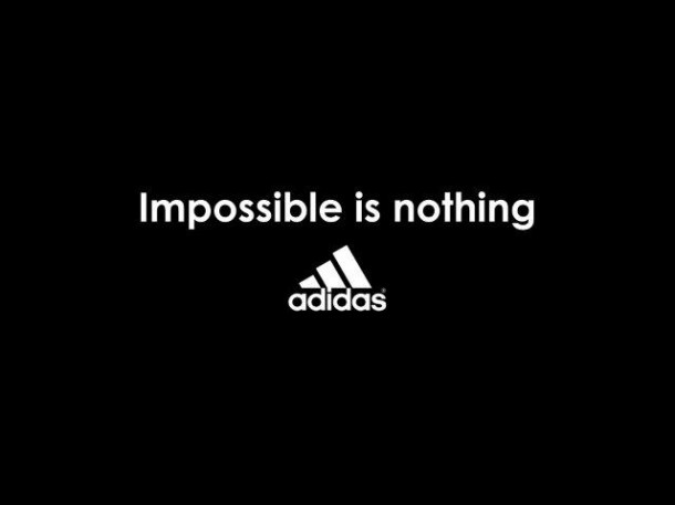 habilidad amanecer Incierto  Impossible is Nothing de Adidas | the orange market