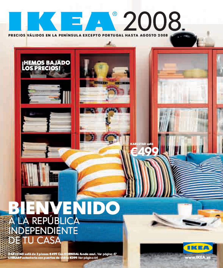 Catalogo IKEA 2008 - Bienvenido a la Republica Independiente de tu casa