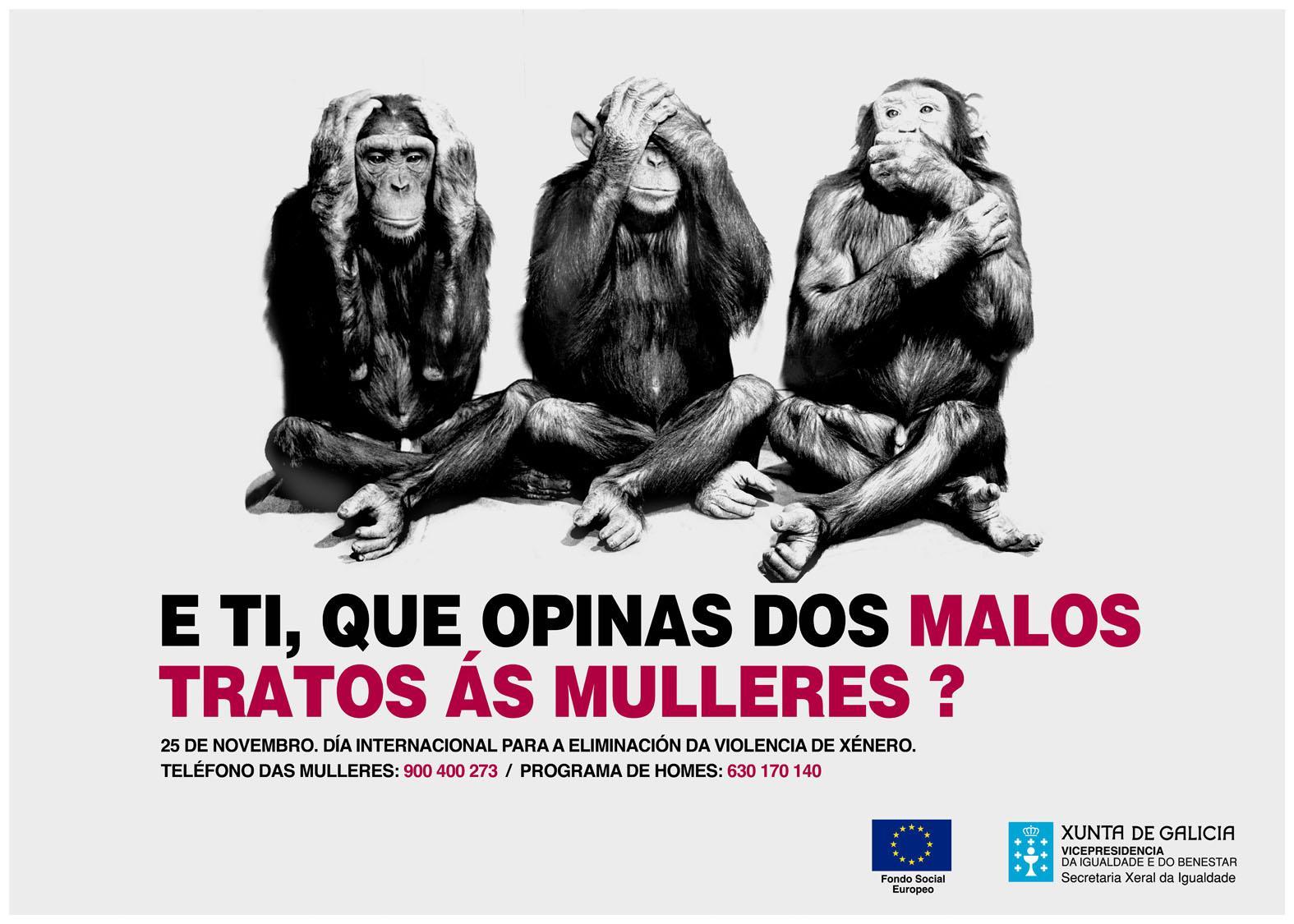 Campaña Contra Malos Tratos Mulleres 25N