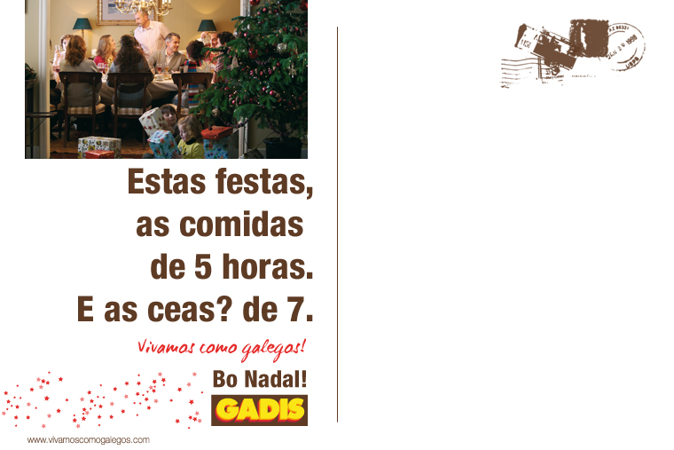 Vivamos como galegos en navidad
