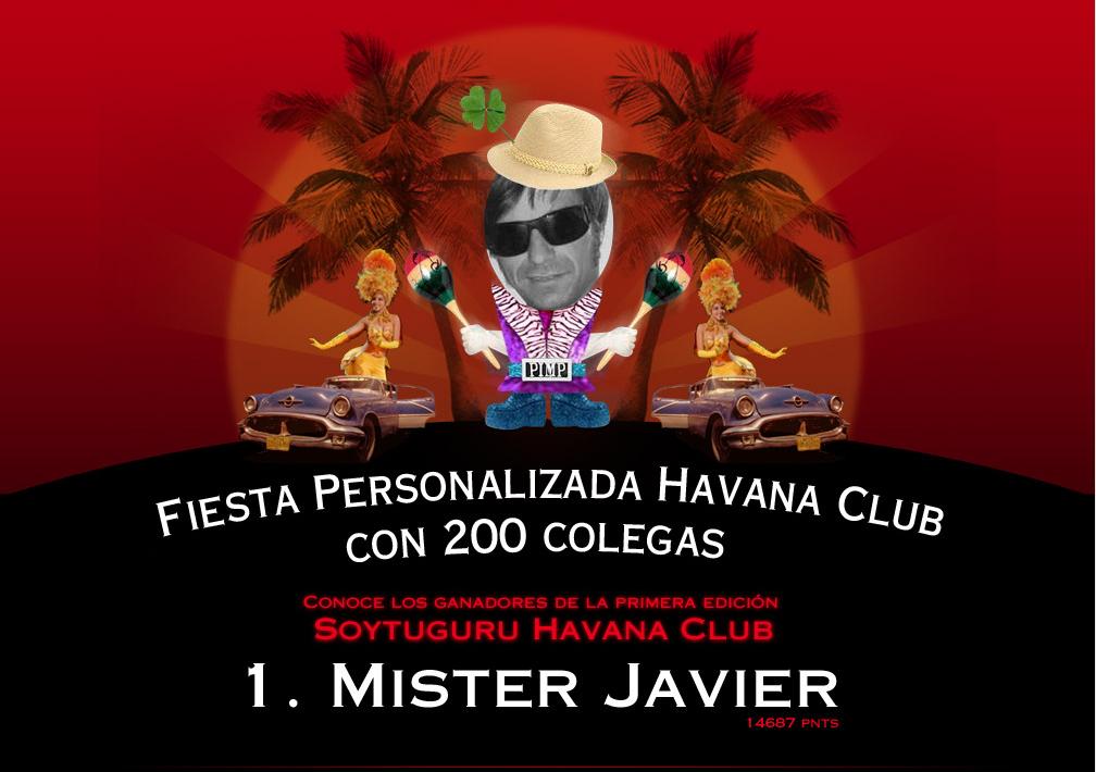 Mister Javier - Havana Club