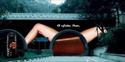 Erotismo en la Publicidad - Efecto Axe