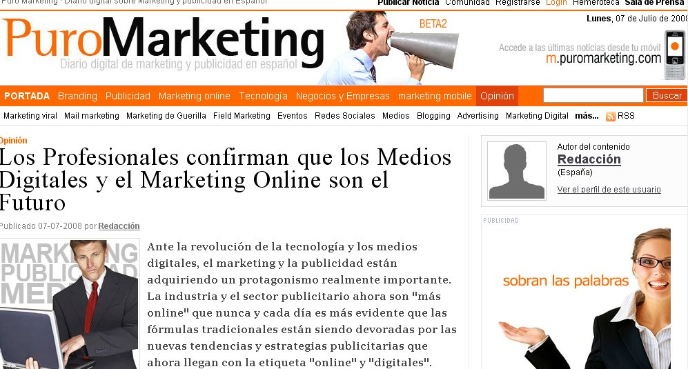 Futuro del Marketing Online - Puromarketing - Javier Varela