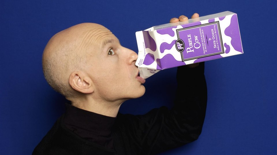 Libro La Vaca Púrpura - Seth Godin