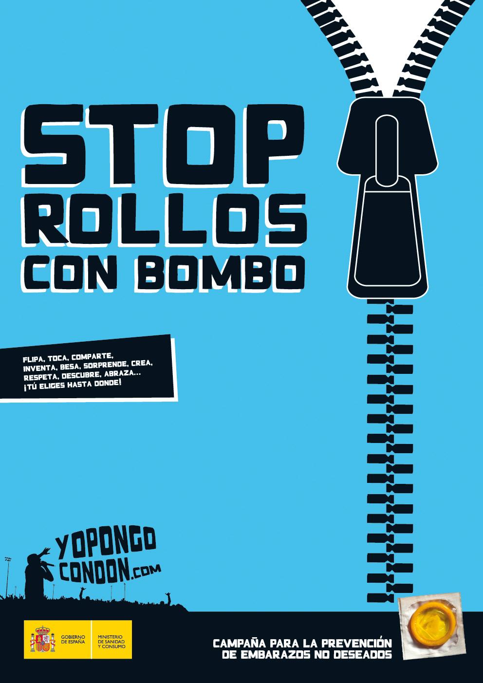 Sólo con condón, sólo con koko - Campaña uso del condón y prevención de embarazos no deseados