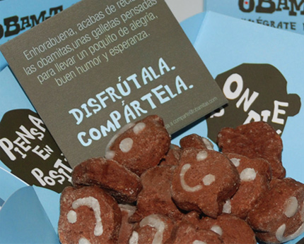 Obamitas - Galletas de chocolate