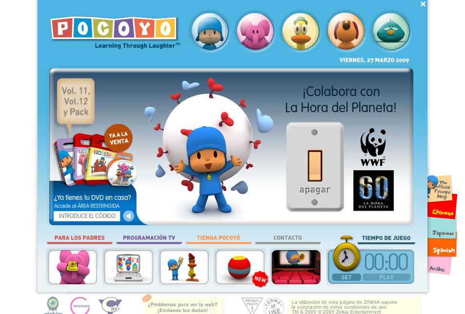 Pocoyó - La Hora del Planeta - WWF