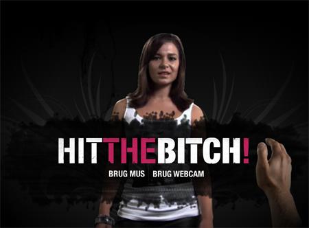 Campaña malos tratos Hit the Bitch