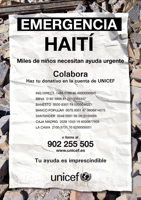 Cartel_UNICEF_Haiti_450