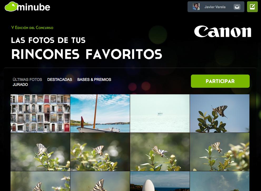 Concurso Minube 'Las fotos de tus rincones favoritos'