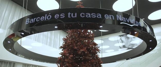 Barceló Hoteles es tu casa en Navidad