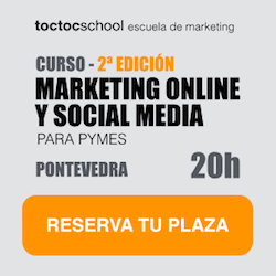 Curso Marketing Online y Social Media Pontevedra