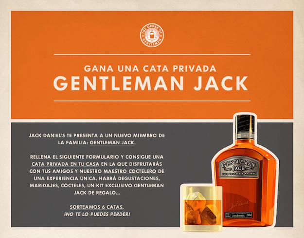 Concurso Facebook - Jack Daniels Gentleman Jack
