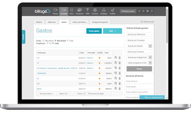 Billage - Software Gestion Integral Pequeños Negocios