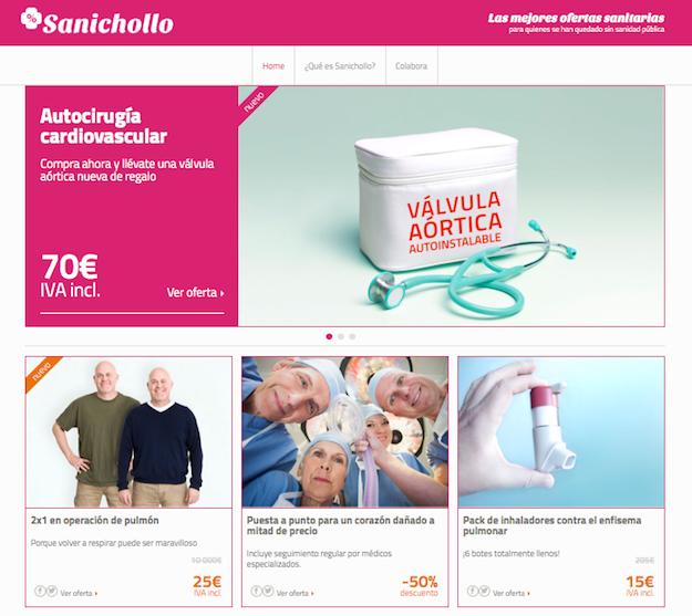 Sanichollo - Medicos del Mundo - web