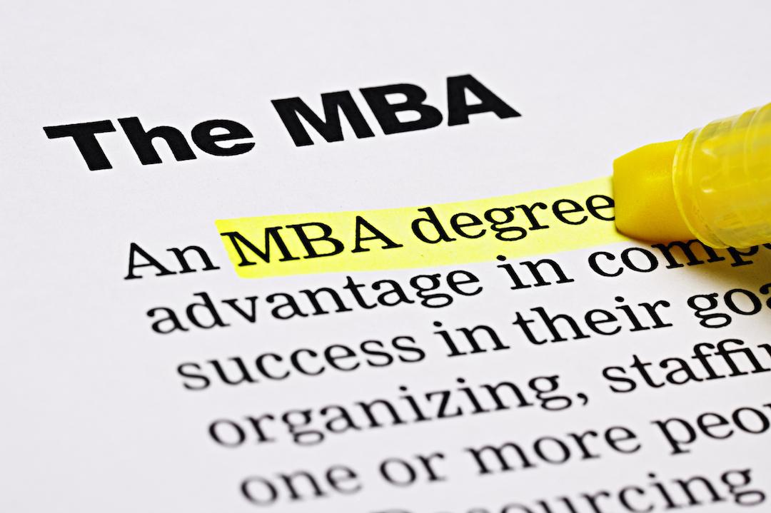 Cursar MBA online
