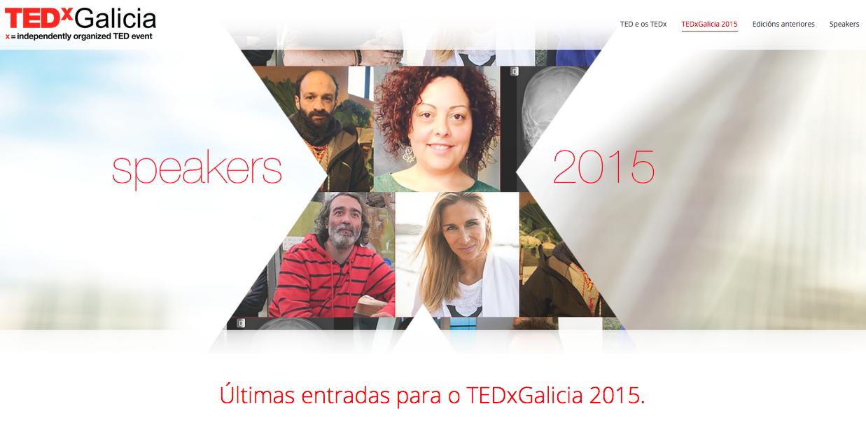 TEDxGalicia 2015 - Últimas entradas