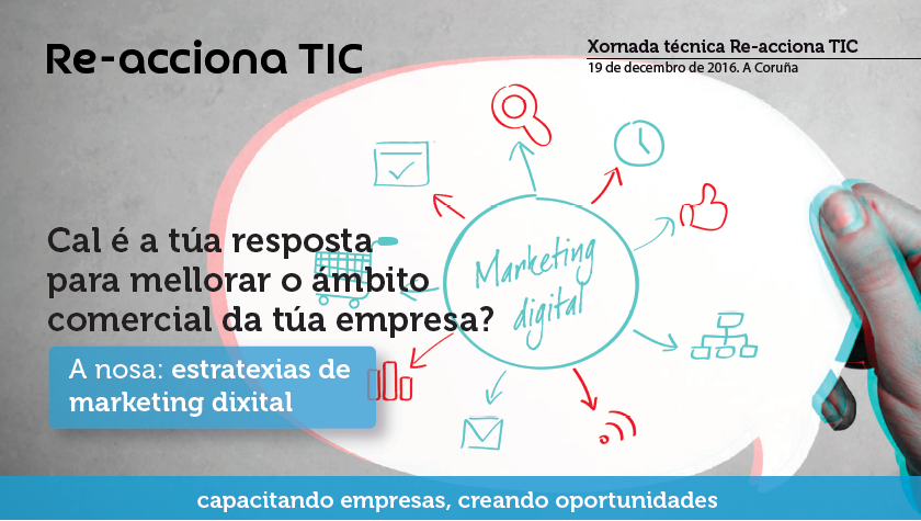 Charla Claves de marketing online para tu negocio - Javier Varela - A Coruña