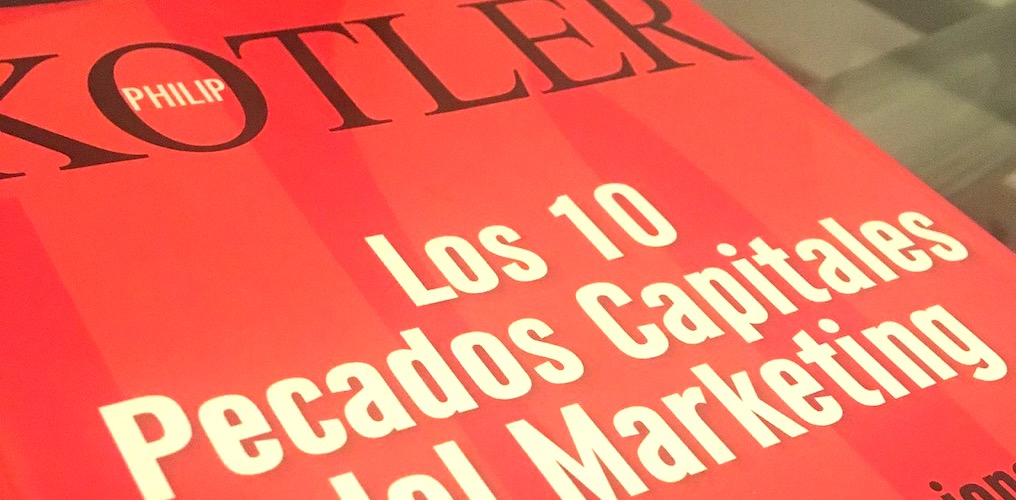 Libro Philip Kotler -Los 10 Pecados Capitales del Marketing