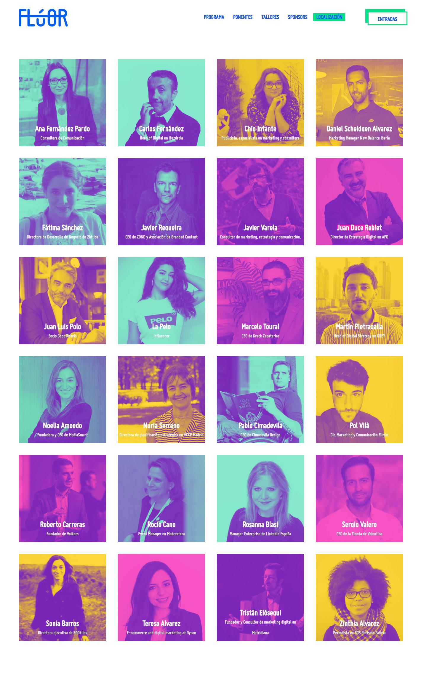 Ponentes Congreso Marketing Digital Flúor Pontevedra