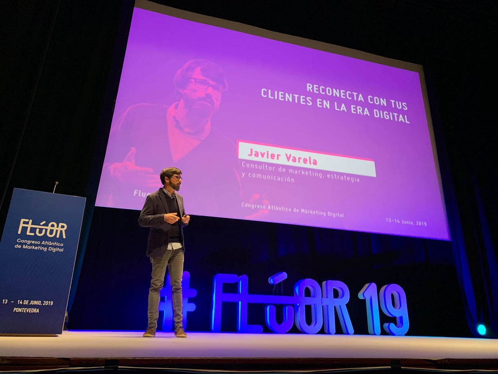 Javier Varela - Congreso Marketing Flúor - Pontevedra