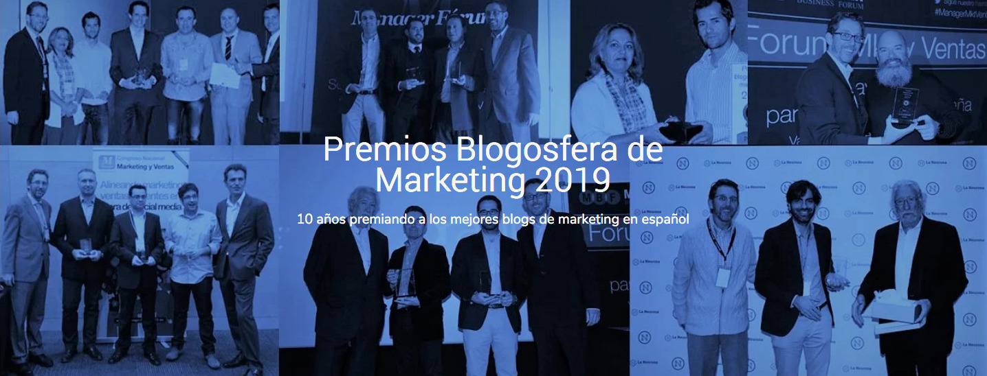 Premios Blogosfera Marketing 2019 - the orange market nominado